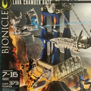 LEGO Bionicle Lava Chamber Gate NIB Collectible
